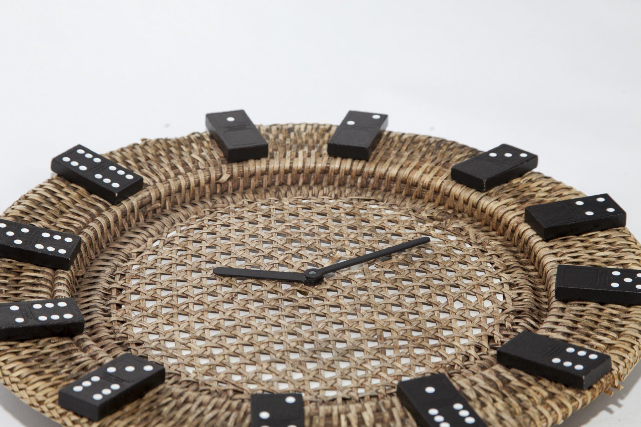 Domino Taşlı Duvar Saati